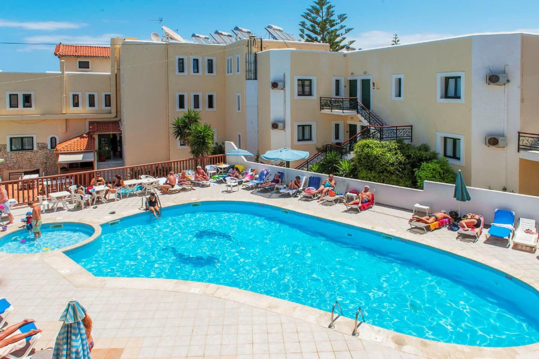 Four-star Elmi Suites, Crete