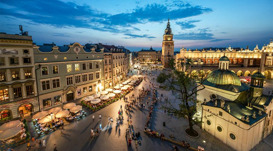 Krakow & Warsaw Twin Centre W/tour