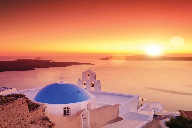 Luxury Greek Escape to Santorini