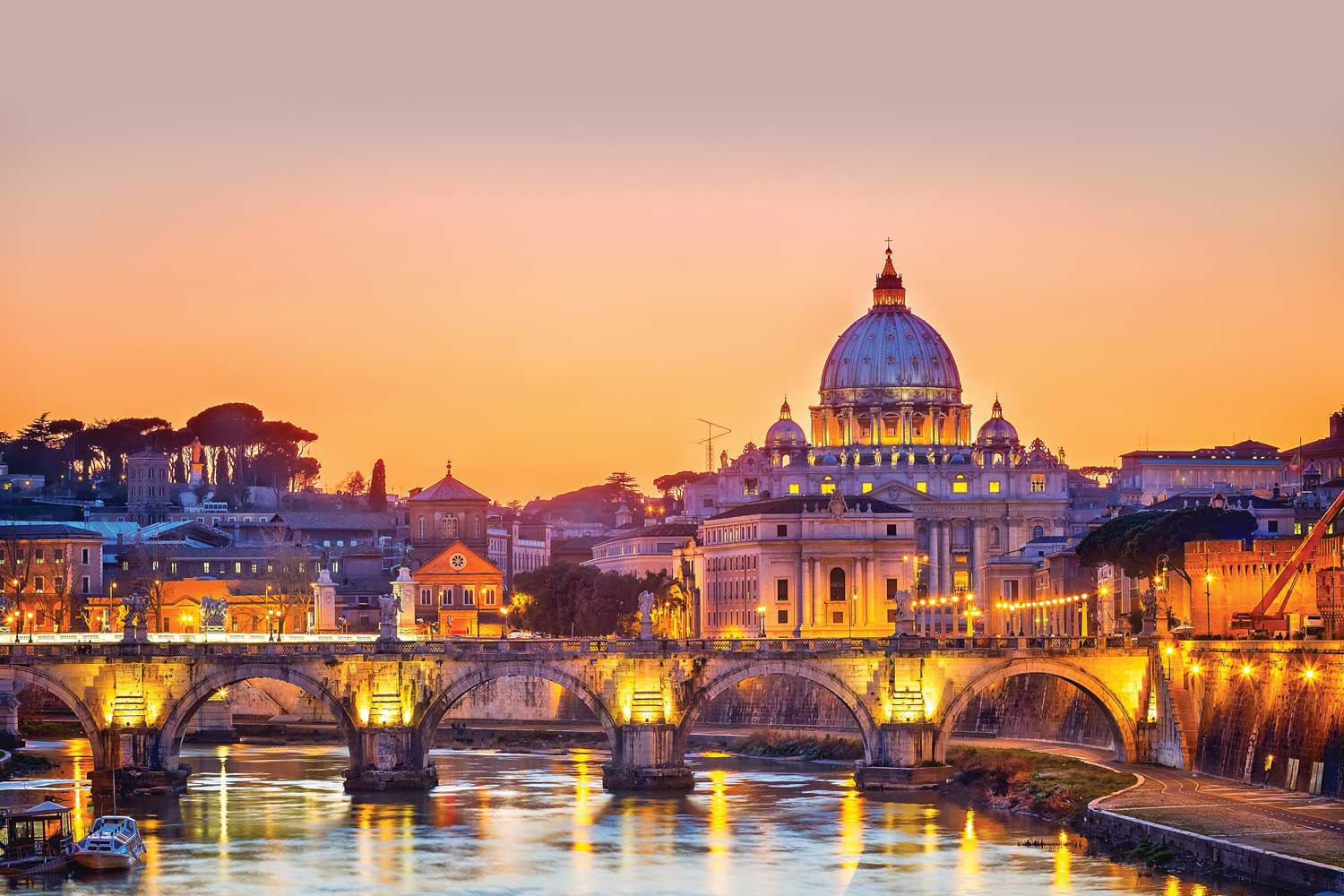 Four-star Morgana Hotel, Rome-from £209 pp